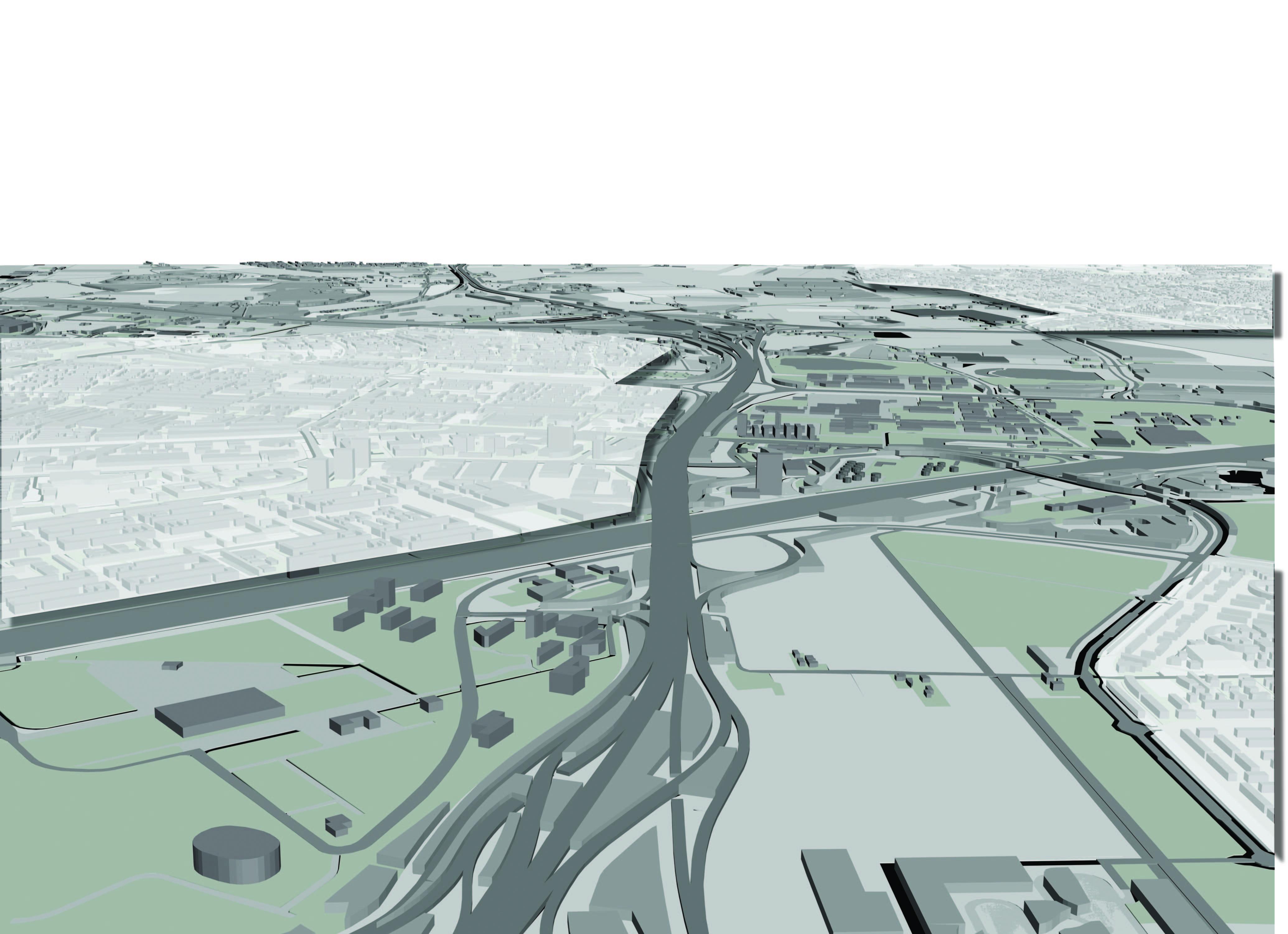The Landscape Form of the Metropolis René van der Velde